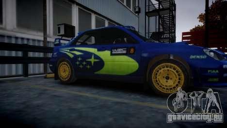 Subaru Impreza STI Group N Rally Edition для GTA 4 вид сзади слева