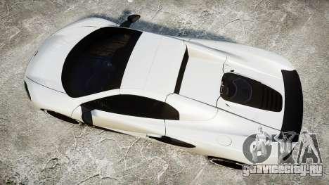 McLaren 650S Spider 2014 [EPM] BFGoodrich для GTA 4 вид справа