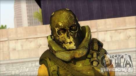 Claude Resurrection Skin from COD 5 v2 для GTA San Andreas третий скриншот
