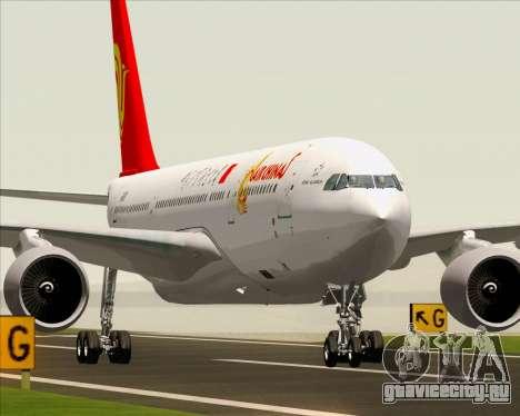 Airbus A330-200 Air China для GTA San Andreas вид сзади