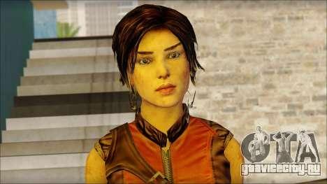 Tomb Raider Skin 5 2013 для GTA San Andreas третий скриншот