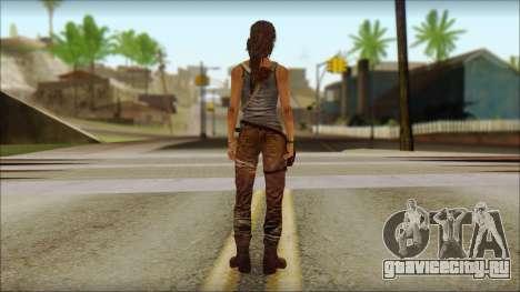 Tomb Raider Skin 12 2013 для GTA San Andreas второй скриншот