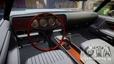 Dodge Challenger 1971 v2.2 PJ10 для GTA 4 вид сзади