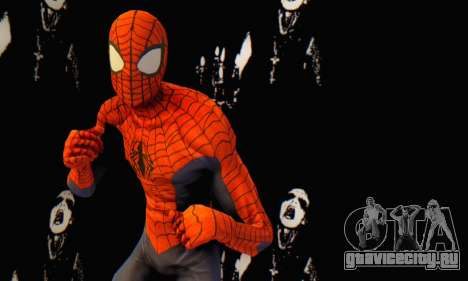 Skin The Amazing Spider Man 2 - Suit Edge Of Tim для GTA San Andreas четвёртый скриншот
