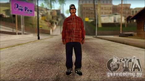 Eazy-E Red Skin v1 для GTA San Andreas