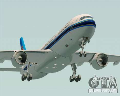 Airbus A330-300 China Southern Airlines для GTA San Andreas вид сбоку