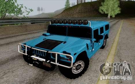 Hummer H1 Alpha 2006 Road version для GTA San Andreas