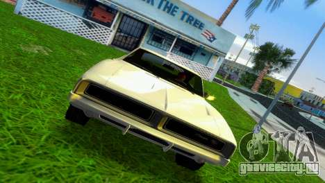 Dodge Charger 1967 для GTA Vice City вид слева