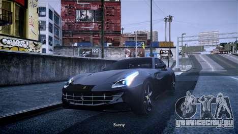 Ferrari FF для GTA 4 вид слева