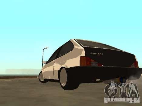 ВАЗ 2108 Бункер для GTA San Andreas вид слева