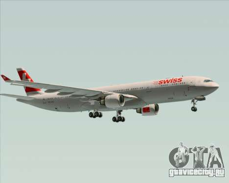 Airbus A330-300 Swiss International Air Lines для GTA San Andreas вид сзади
