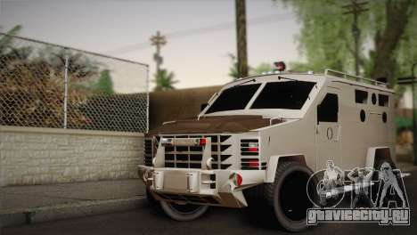 FBI Armored Vehicle v1.2 для GTA San Andreas