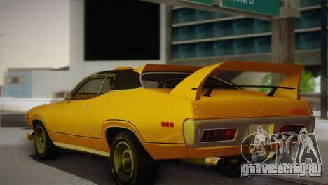 Plymouth GTX Tuned 1972 v2.3 для GTA San Andreas вид слева