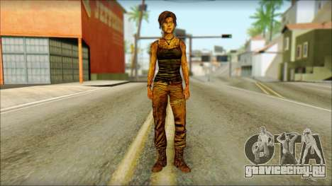 Tomb Raider Skin 13 2013 для GTA San Andreas