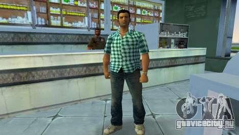 Kockas polo - vilagoskek T-Shirt для GTA Vice City второй скриншот