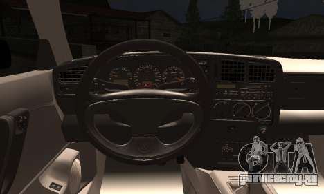 Volkswagen Corrado для GTA San Andreas вид сзади слева