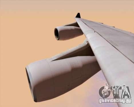 Airbus A340-313 Air Canada для GTA San Andreas вид снизу
