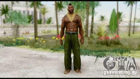 MR T Skin v1 для GTA San Andreas