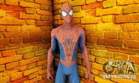 The Amazing Spider Man 2 Oficial Skin для GTA San Andreas третий скриншот