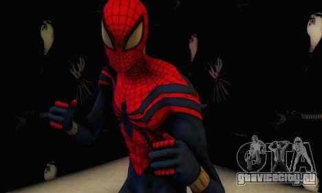 Skin The Amazing Spider Man 2 - Suit Ben Reily для GTA San Andreas второй скриншот