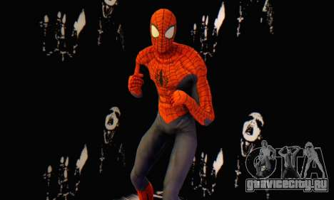 Skin The Amazing Spider Man 2 - Suit Edge Of Tim для GTA San Andreas