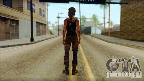 Tomb Raider Skin 13 2013 для GTA San Andreas второй скриншот