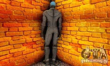Skin Electro From The Amazing Spider Man 2 для GTA San Andreas второй скриншот