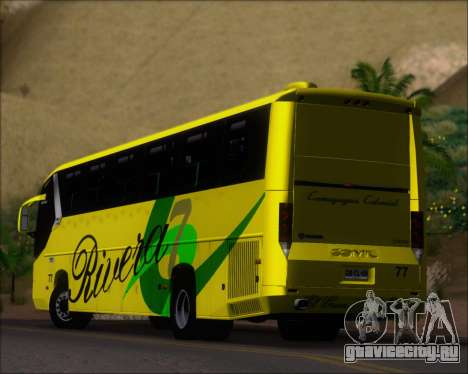 Comil Campione 3.45 Scania K420 Rivera для GTA San Andreas вид снизу