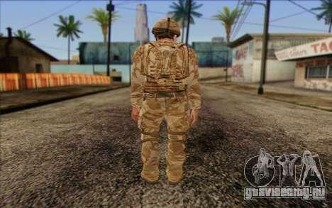 Британский солдат (ArmA II: BAF) v2 для GTA San Andreas второй скриншот
