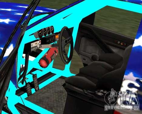 Liberator Online Version (American Flag) для GTA San Andreas вид сзади слева