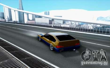 Blista By Next для GTA San Andreas вид слева
