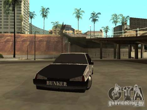 ВАЗ 2108 Бункер для GTA San Andreas