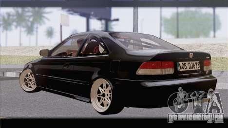 Honda Civic EM1 для GTA San Andreas вид слева