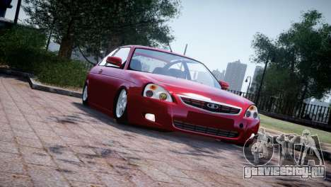 Lada Priora Coupe для GTA 4 вид слева