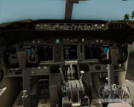 Boeing 737-8AS Ryanair для GTA San Andreas салон