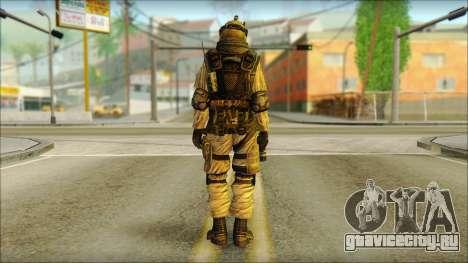 Солдат ЕС (AVA) v6 для GTA San Andreas второй скриншот