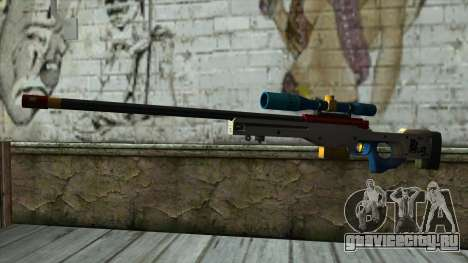 Sniper Rifle from PointBlank v4 для GTA San Andreas