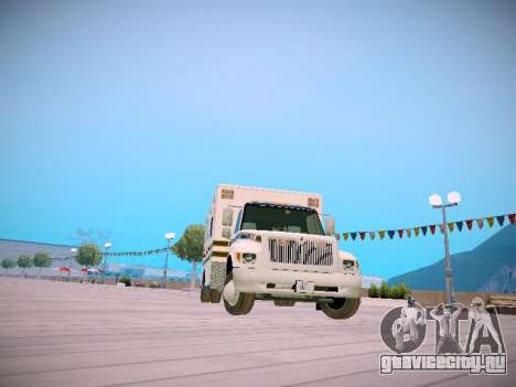 Pierce Commercial Grasonville Ambulance для GTA San Andreas