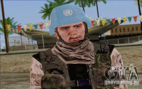 Чешский Миротворец для GTA San Andreas третий скриншот