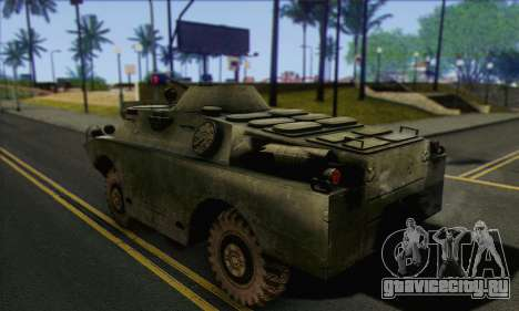 BRDM-2 from ArmA Armed Assault для GTA San Andreas вид слева