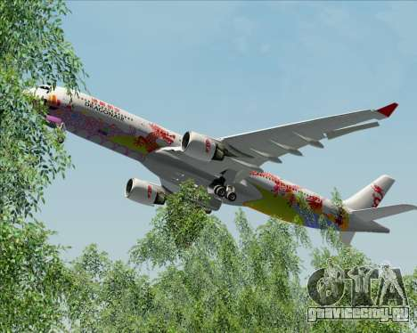 Airbus A330-300 Dragonair (20th Year Livery) для GTA San Andreas вид снизу