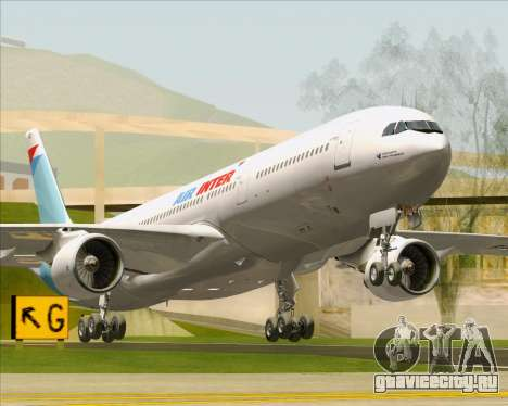 Airbus A330-300 Air Inter для GTA San Andreas