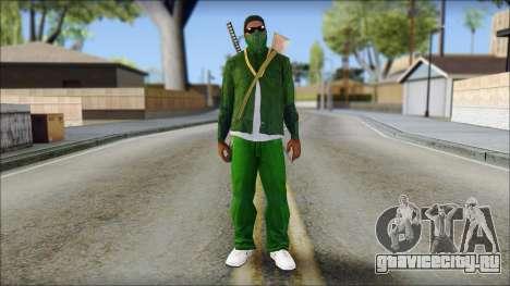 New CJ v6 для GTA San Andreas
