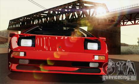 Lamborghini Diablo SV 1995 (HQLM) для GTA San Andreas вид сбоку