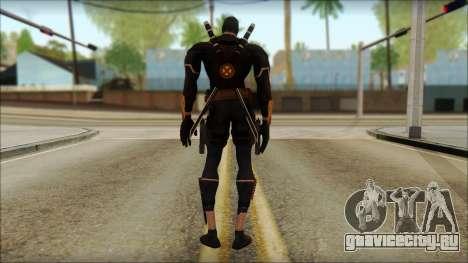 Xmen Alt Deadpool The Game Cable для GTA San Andreas второй скриншот