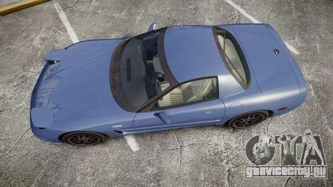 Chevrolet Corvette Z06 (C5) 2002 v2.0 для GTA 4 вид справа