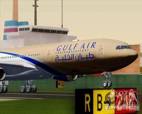 Airbus A340-313 Gulf Air для GTA San Andreas