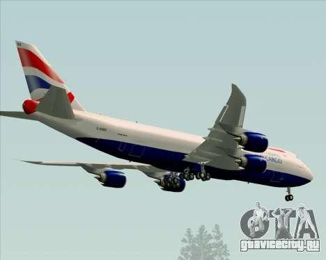 Boeing 747-8 Cargo British Airways World Cargo для GTA San Andreas вид сбоку