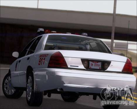 Ford Crown Victoria Tallmadge Battalion Chief 2 для GTA San Andreas