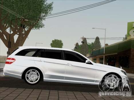 Mercedes-Benz E250 Estate для GTA San Andreas вид сзади слева
